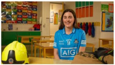 Lyndsey Davey ar an School Hub.